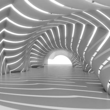 ایجاد ریتم در احجام معماری
