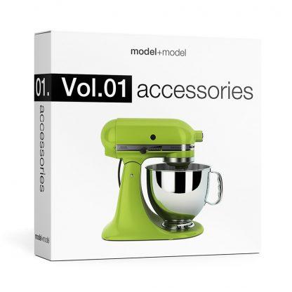 ModelplusModel Volume 01 accessories