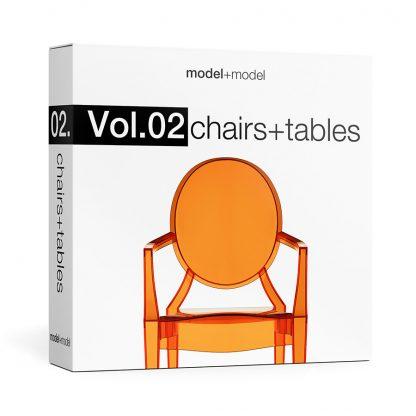 ModelplusModel Volume 02 Chairs+tables