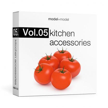 ModelplusModel Volume 05 Kitchen accessories