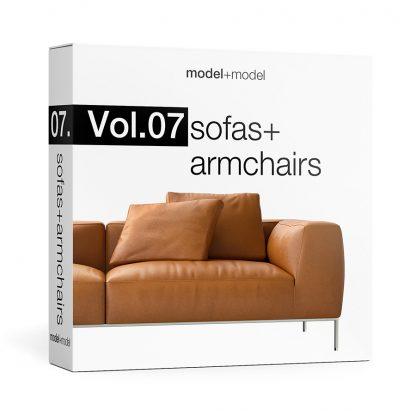 ModelplusModel Volume 07 Sofas+armchairs