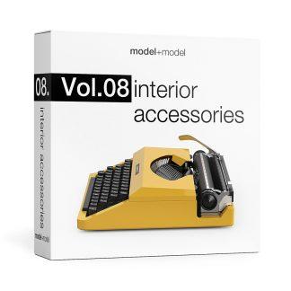 ModelplusModel Volume 08 Interior Accessories
