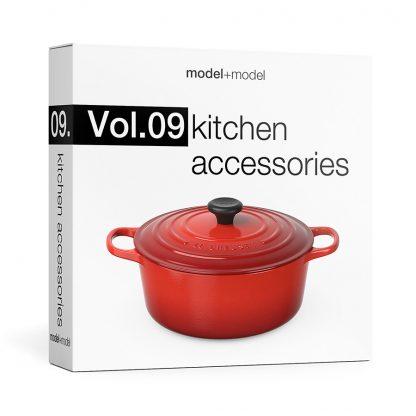ModelplusModel Volume 09 Kitchen Accessories